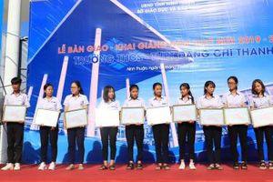 Trungnam Group bàn giao trường 66 tỷ đồng cho ngành giáo dục Ninh Thuận