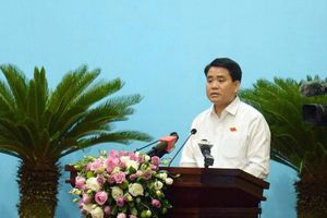 Chủ tịch UBND thành phố Nguyễn Đức Chung: Người dân sử dụng nước sạch vì chính sức khỏe của mình!