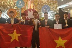 Đội tuyển Hà Nội giành thành tích ấn tượng tại Olympic Quốc tế Mát-xcơ-va
