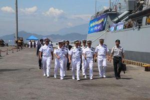 Tàu Hải quân Hàn Quốc thăm hữu nghị TP Đà Nẵng