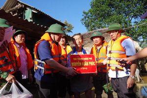 Kiểm tra công tác khắc phục hậu quả lũ lụt tại Hà Tĩnh