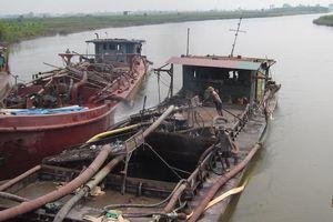 'Cát tặc' lộng hành tại Nam Sách, Hải Dương