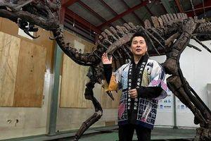 Vấp vật lạ, đào được 'quái vật' khổng lồ thời châu Á liền với Mỹ