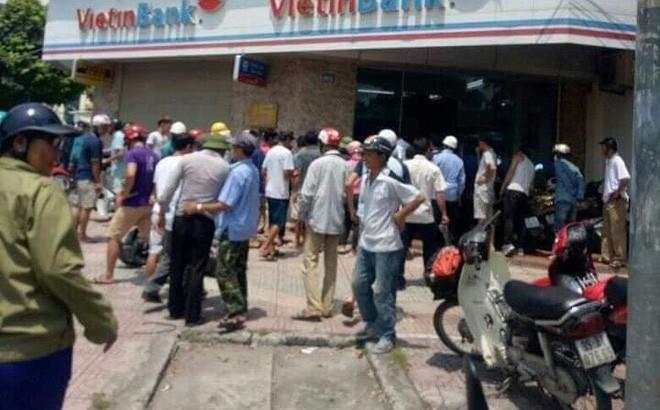 Tạm giữ đối tượng cướp ngân hàng VietinBank Đông Hà Nội