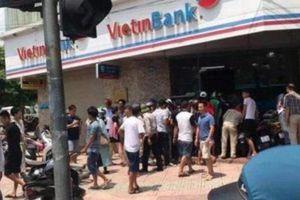 Không có thiệt hại sau vụ cướp ngân hàng VietinBank Đông Hà Nội