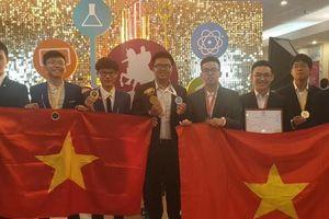 Việt Nam giành 3 HCV Olympic quốc tế Mát-xcơ-va năm 2019