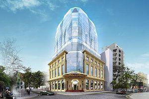 DOJI khánh thành tòa nhà kiến trúc hình kim cương độc đáo