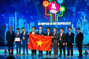 Đoàn học sinh Hà Nội đạt thành tích xuất sắc tại Olympic quốc tế Moscow 2019