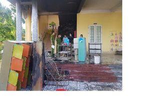 Cháy trường mầm non, hơn 100 học sinh khẩn trương sơ tán