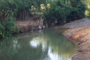 Hai anh em đuối nước tại con suối gần nhà