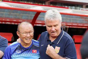 ĐT U22 Việt Nam gặp U22 Trung Quốc: 17h00 ngày 8/9 Park Hang-seo đấu trí với đồng nghiệp cũ Guus Hiddink