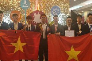 Việt Nam đạt 8 huy chương tại Olympic Quốc tế Moscow