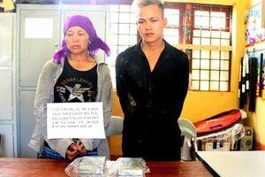 Bắt 2 mẹ con vận chuyển lượng lớn ma túy