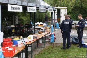 Nổ tại lễ hội ẩm thực Đức, nhiều người bị bỏng nặng