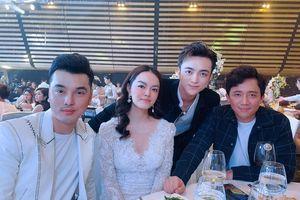 Trấn Thành cùng dàn sao Việt dự đám cưới của con gái đại gia Minh Nhựa