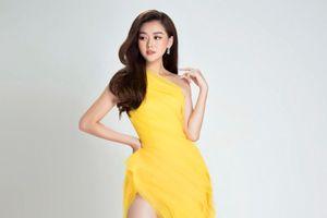 Á hậu Tường San tung bộ ảnh ngọt ngào trước giờ thi Miss International