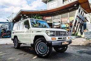 Thợ Việt hồi sinh 'xác nát' Toyota Land Cruiser như mới