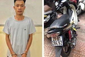 Bắt đối tượng cướp hàng loạt xe ôm công nghệ ở Hà Nội