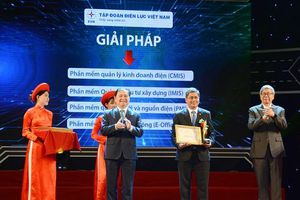 EVN nhận Giải thưởng Doanh nghiệp Chuyển đổi số xuất sắc