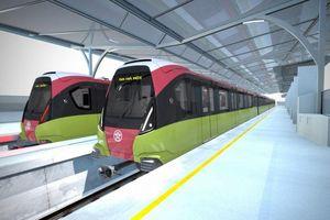 Tốc độ chạy tàu đường sắt đô thị Nhổn - ga Hà Nội 35km/h là tối ưu