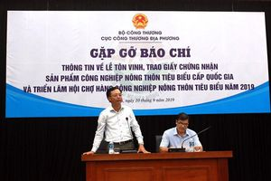Sắp vinh danh 110 sản phẩm công nghiệp nông thôn quốc gia