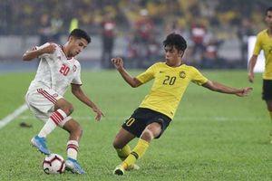 Malaysia thua ngược UAE trên sân nhà