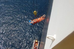 Đà Nẵng: Cứu kịp thời thuyền viên nước ngoài tai biến trên biển Hoàng Sa