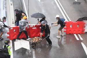 Hong Kong bắt giữ gần 160 người biểu tình quá khích trong 3 ngày