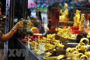 Sáng 10/9, giá vàng trong nước giảm 550.000 đồng/lượng