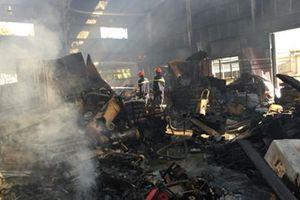 Bác kháng cáo trong vụ cháy gây thiệt hại hơn 100 tỷ đồng ở Cụm công nghiệp Ngọc Hồi