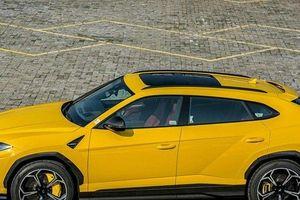 Cận cảnh siêu SUV Lamborghini Urus hàng hiếm Giallo Auge vừa cập bến Việt Nam