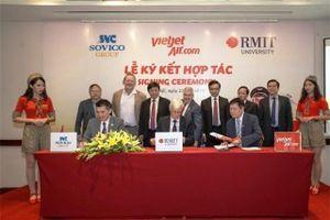 Đại học RMIT hợp tác với Sovico và Vietjet đẩy mạnh đào tạo hàng không