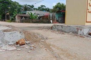 Tình tiết mới vụ nhóm đối tượng xăm trổ đập phá cổng làng ở Thanh Hóa