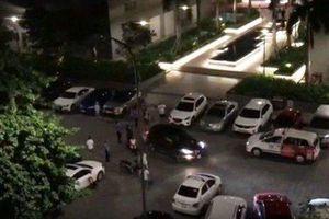 Vụ xô xát rồi lái xe ô tô đâm gục 2 người ở chung cư Gold View: Do tranh chấp chỗ đậu xe
