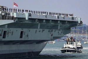 Tàu sân bay Anh tới Biển Đông, Trung Quốc vội nhận vơ 'chủ quyền'