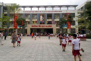 Tình hình học tập tại hai Trường Tiểu học, THCS Hạ Đình ổn định