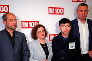 Hoàng Chi Phong gặp lãnh đạo tổ chức tai tiếng ở Syria
