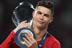 Ronaldo phá kỷ lục ghi bàn ở vòng loại Euro