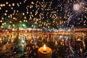Tháng 11, Thái Lan hóa miền cổ tích trong lễ hội thả đèn trời