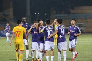 Hà Nội FC thắng đậm Nam Định trong ngày CĐV thành Nam 'nổi loạn'