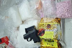 Triệt phá đường dây ma túy cực lớn từ Campuchia về TPHCM