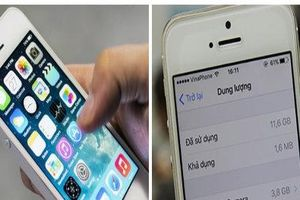 Điện thoại iPhone hết bộ nhớ, cách giải phóng dung lượng đơn giản