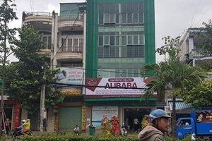 Phạt công ty dựng biển hiệu trái phép mang tên Tập đoàn Địa ốc Alibaba