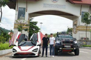 McLaren 720S vượt biên giới, sang Lào tiền trạm Asean Rally 2020