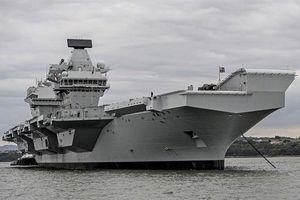 VN lên tiếng về kế hoạch điều siêu tàu sân bay của Anh tới châu Á