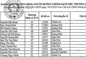 Bắt tạm giam Phó cơ quan Tổ chức - Nội vụ TP Quảng Ngãi