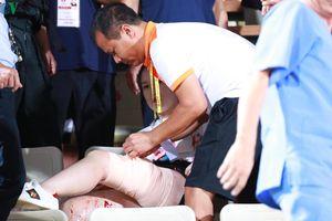 Cổ động viên nữ nhập viện được Hà Nội FC lo toàn bộ chi phí phẫu thuật