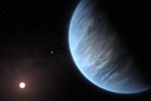 Phát hiện hành tinh đầu tiên có nước nằm ngoài hệ Mặt trời
