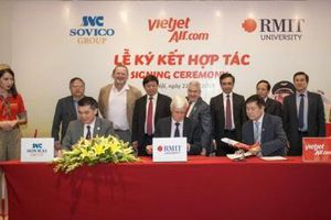 Đại học RMIT 'bắt tay' Sovico và Vietjet đẩy mạnh đào tạo hàng không