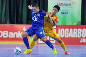 Vòng 15 Futsal HDBank VĐQG 2019: Thái Sơn Nam mất điểm trước Đà Nẵng